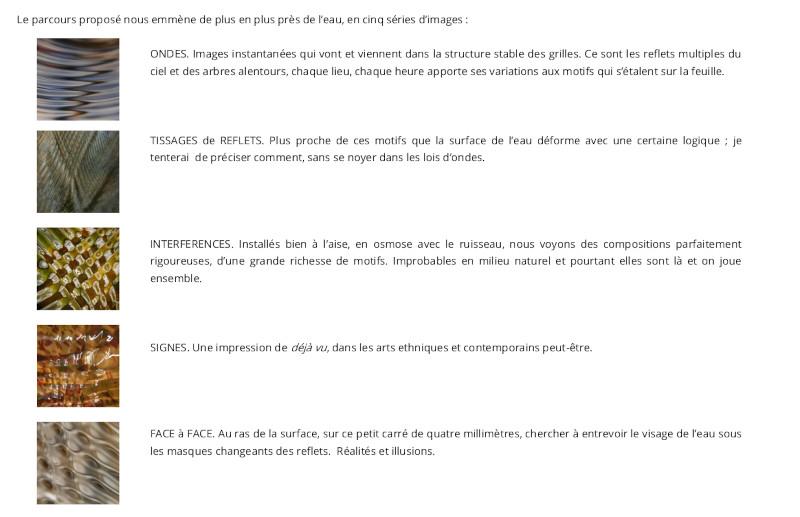Table des matières - les interférences sauvages de - https://www.stream-art.fr/